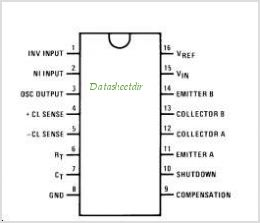 LM3524D pinout,Pin out