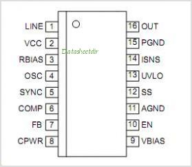 MIC9131 pinout,Pin out