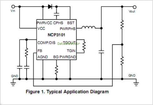NCP3101 circuits