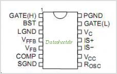 NCP5211 pinout,Pin out