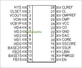 SC1406A pinout,Pin out