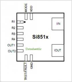 SI8519 pinout,Pin out
