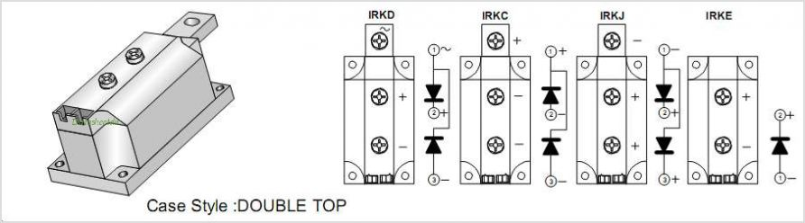 IRKD320-16 pinout,Pin out