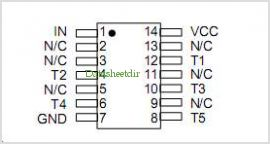 DDU66F-45 pinout,Pin out