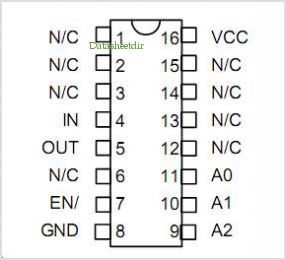 PDU138 pinout,Pin out
