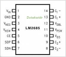 LM2685 pinout,Pin out