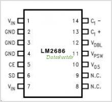 LM2686 pinout,Pin out