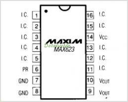 MAX623 pinout,Pin out