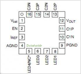 NCP5604 pinout,Pin out