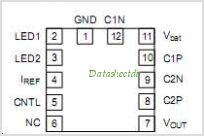 NCP5612 pinout,Pin out