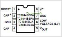 TC1044S pinout,Pin out