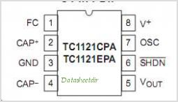 TC1121 pinout,Pin out