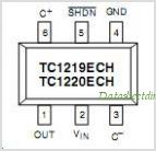 TC1220 pinout,Pin out