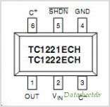 TC1222 pinout,Pin out