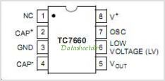 TC7660 pinout,Pin out