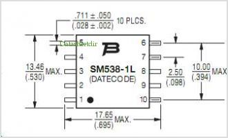 SM538-1L pinout,Pin out