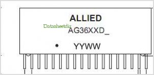 AG3601DS pinout,Pin out