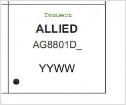AG8801DS pinout,Pin out