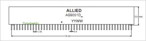 AG9001DS pinout,Pin out