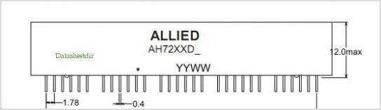AH7201DS pinout,Pin out