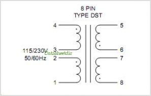 DST2-34 pinout,Pin out