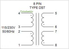 DST2-36 pinout,Pin out