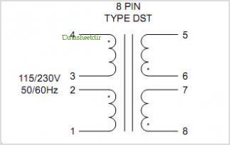 DST2-6 pinout,Pin out