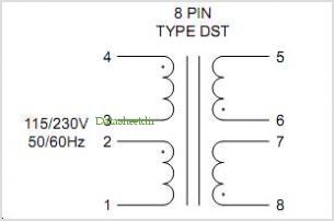 DST2-88 pinout,Pin out