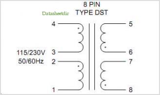 DST3-20 pinout,Pin out