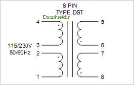 DST5-6 pinout,Pin out