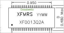 XF0013Q2A pinout,Pin out