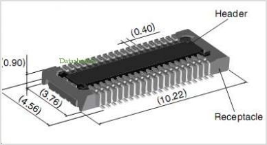 DF30FC-40DP-0.4V pinout,Pin out