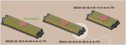 SEAM-30-03.5-S-08-2-A-K-TR pinout,Pin out