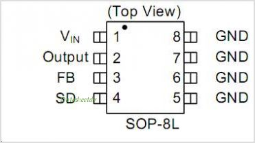 AP1509-S pinout,Pin out
