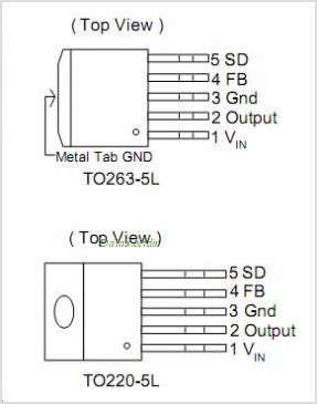 AP1512-12T5 pinout,Pin out