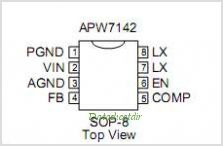 APW7142 pinout,Pin out