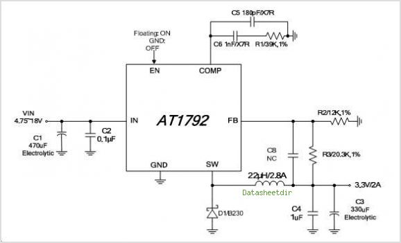 AT1792S-GRE circuits
