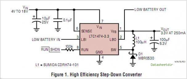 LTC1474 circuits