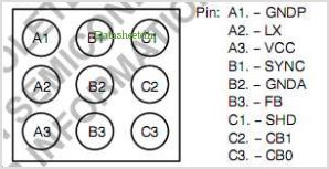 NCP1510A pinout,Pin out