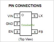NCP1521 pinout,Pin out
