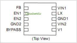 NCP1526 pinout,Pin out