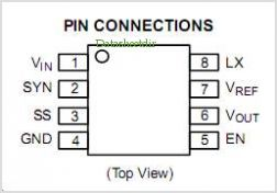 NCP1530 pinout,Pin out