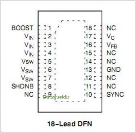 NCP1546 pinout,Pin out