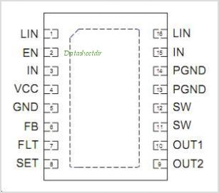 AAT1275 pinout,Pin out