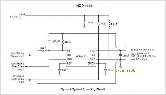 NCP1410 circuits