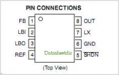 NCP1410 pinout,Pin out