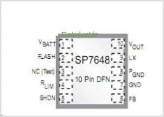 SP7648 pinout,Pin out