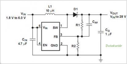 TPS61040 circuits