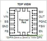 TPS61080 pinout,Pin out