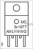MC33167 pinout,Pin out